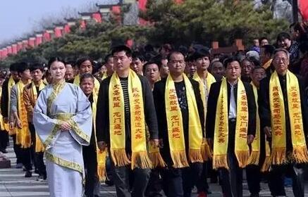 韩城徐村司马迁祭祀[图]