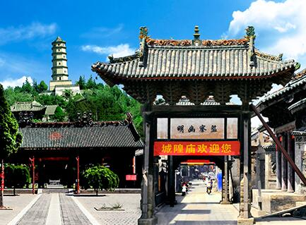 明清一条街―文庙―三舍公馆―民俗博物馆